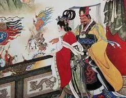周幽王的妃子_读对联猜人物---情殇(一)_其他对联_中国对联网